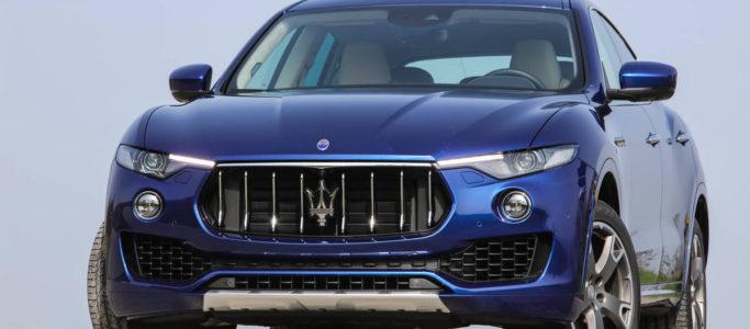 ImportExport Ready Maserati Levante AWD SUV